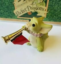 """""""Ta Ta Ta Tah!"""" Whimsical World of Pocket Dragons by Real Musgrave with Box"""