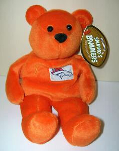 "John Elway #7 Denver Broncos NFL 1999 Salvino's Bammers Beanie Bear 8"" w/ Tags"