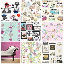 Rasch Birds Wallpaper - Natural 293005 Kids Nursery