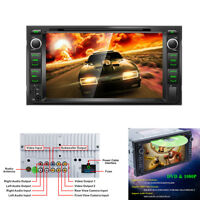 """7"""" Car Stereo Radio CD/DVD Player FM AUX-in USB TF card Head Unit For Toyota"""
