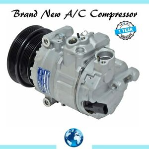 2012-2014 Beetle, 2012-2014 Jetta 2.5L, 2012-2014 Passat 2.5L New A/C Compressor
