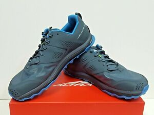 ALTRA LONE PEAK 5 Men's TRAIL Running Shoes Size 11 (Blue/Lime) USED