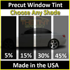 Fits Saturn - Rear Car Precut Window Tint Kit - Automotive Window Film - Pre cut