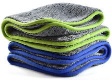 2 x Mikrofasertuch 1200 g/m² Super-Flausch Trocken- & Poliertuch Microfasertuch