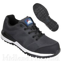 Himalayan Composite Toe Cap Black KPU Safety Shoes Trainers Lightweight 4314