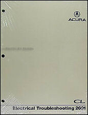 2001 Acura CL Electrical Troubleshooting Manual 3.2 Wiring Diagram Book