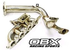 OBX Racing Turbo Manifold For 2000 thru 2004 Ford Focus 2.0L ZX3 ZETEC with DP