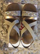rieker sandals 6 Beige Combination