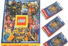 new lego collectors album and stickers new album x 1 & 3 new packs of stickers
