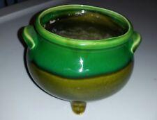 Vintage Ardco glazed ceramic pottery C-3180 green dish Japan VERY NICE ! ( Gtcl)