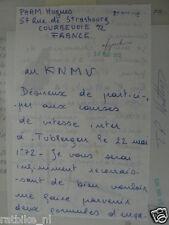 HT120-ORIGINAL AUTOGRAPH PHAM HUGUES ? FRANCE,SIGNATURE,AUTOGRAMM,TUBBERGEN