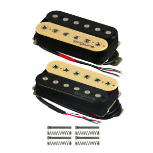 OriPure Alnico 2 Double Coil Humbucker Gitarre Brücke 8.5K / Hals 7K Pickup
