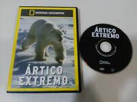 ARTICO EXTREMO OSO POLAR NATIONAL GEOGRAPHIC DVD ESPAÑOL ENGLISH REGION 2-4