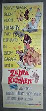 ZEBRA IN THE KITCHEN original 1965 14x36 movie poster MARTIN MILNER/JAY NORTH