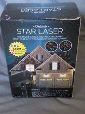 Deluxe Estrellas Laser - Vacaciones Movimiento Rotulador Ho Proyector Rojo/Verde