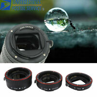 Macro Extension Tube Ring Auto Focus Adapter Tube Ring for Canon EOS EF Lens