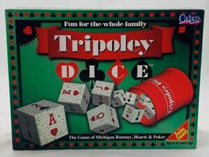 1997 Tripoley Dice Game by Cadaco New Old Stock FREE SHIPPING