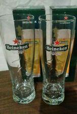 Heineken Rugby World Cup Limited Edition Glass 2 Piece Set Rare