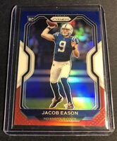 2020 Panini Prizm Jacob Eason RC 331 Red White Blue Prizm Colts MINT!