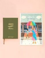Frankie Magazine Diary and Calendar Bundle  - 2021 By Frankie Press Free Postage