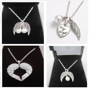 UNIQUE LOSS OF BABY CHILD INFANT MY ANGEL WINGS BEREAVEMENT MISCARRIAGE NECKLACE