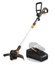 Worx Wg170.2 Gt 20V PowerShare CordlessTrimmer/Edger + 60 min quick charger