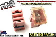 2 X Holden GM Pink 2 Pin Automotive Fusible Link - 12v 30a Universal Fuse - KLR
