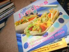 Delicious Lunches (Hardcover) cookbook recipes book easy yummy ideas