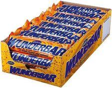(1000g=19,24€) Cadbury Wunderbar - Peanut Butter Schokoriegel - 24 Stück