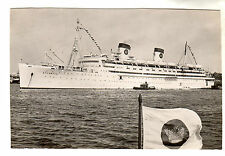 Atlantic - Real Photo Postcard 1954 / Liner