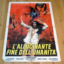 L'ALLUCINANTE FINE DELL'UMANITA' manifesto poster affiche KONCHU DAISENSO Sci Fi