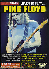 LICK LIBRARY Learn to Play PINK FLOYD Rock Tutor COMFORTABLY NUMB GUITAR DVD