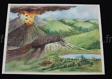 B516 AFFICHE ECOLE ROSSIGNOL VOLCAN INFILTRATION BOMBE