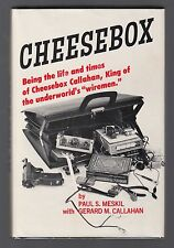 CHEESEBOX (1974) PAUL MESKIL, GERARD CALLAHAN Underworld Wiretap Spy King 1ST ED
