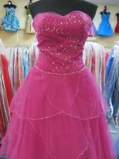 AUTHENTIC TONY BOWLS Prom Dress Pageant Ballgown Homecoming sz 8 #17504