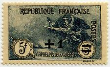 """FRANCE N°169 """"AU PROFIT DES ORPHELINS DE LA GUERRE,+1 F S 5+5 F"""" NEUF xTB"""