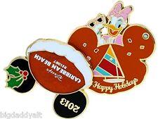 New Disney Daisy Duck Caribbean Beach Resort Christmas Pin Happy Holidays 2013