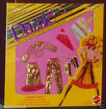Old Near- Mint in Package Fashions Dazzle Her Friends 1982 Mattel Golden Gear