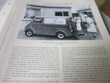 Nutzfahrzeug Archiv 1 Geschichte 1243 Glas Gogomobil Kleintransporter