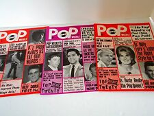 Pop Weekly Magazine 1965 10 ISSUES Vintage Music UK Mint