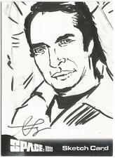 Space 1999 Series 1 Gerry Anderson Sketch Card created by Tom Savage [ D ]
