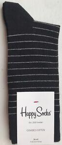 Happy Socks Women's Thin Stripe Socks - UK3.5-6.5 / EU36-40 - SB01-999