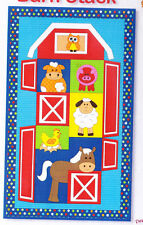 PATTERN - Barn Stack - applique & pieced wall quilt PATTERN - Kids Quilts