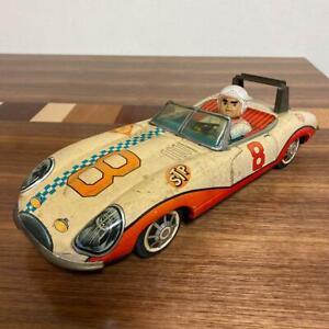 AOSHIN Mach Go GO Speed Race Car Vintage Tin Toy Rare From Japan