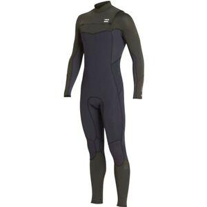 BILLABONG Men's 302 FURNACE ABSOLUTE COMP CZ Wetsuit - DKO - Medium Tall - NWT