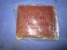 Brand New Sealed In Plastic Egyptian Leather? Wallet Made in Egypt
