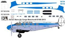Seven Stars Beech 18 C-45 decals for Pioneer 2 1/72 scale
