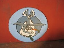 WWII USAAF BUGS BUNNY BIG SPRINGS TEX BOMBARDIER SCHOOL  FLIGHT JACKET   PATCH