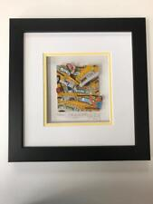 """John Suchy 3 D Artwork """" Gridlock """"  Signed & Numbered Like Rizzi"""