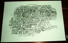 Königsberg Kaliningrad Ansicht Merian Druck Stich 1650